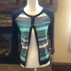 Merona patterned sweater size small